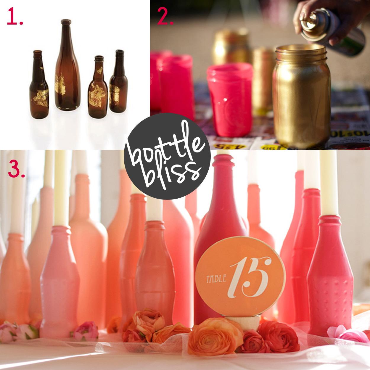 Glass bottles brown co weddings for Diy bottles and jars